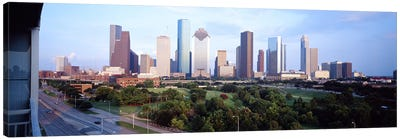 Houston TX Canvas Art Print