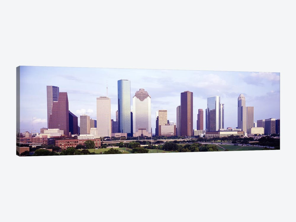 Houston TX #2 1-piece Canvas Art Print