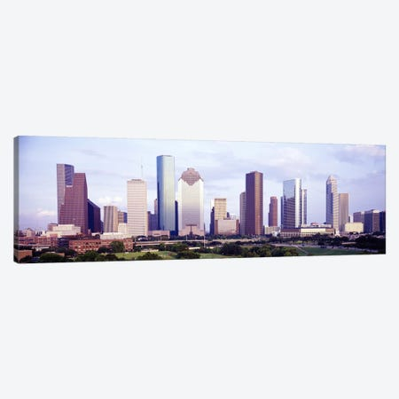 Houston TX #2 Canvas Print #PIM3700} by Panoramic Images Canvas Art Print