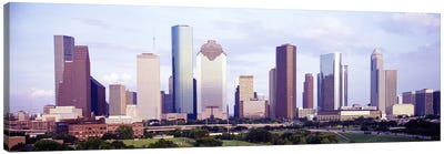 Houston TX #2 Canvas Art Print