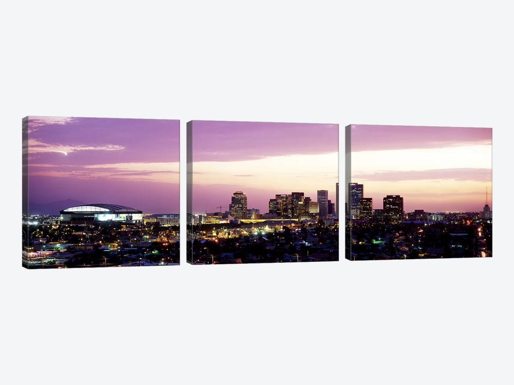 Phoenix AZ by Panoramic Images 3-piece Canvas Art