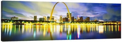 EveningSt Louis, Missouri, USA Canvas Print #PIM3702