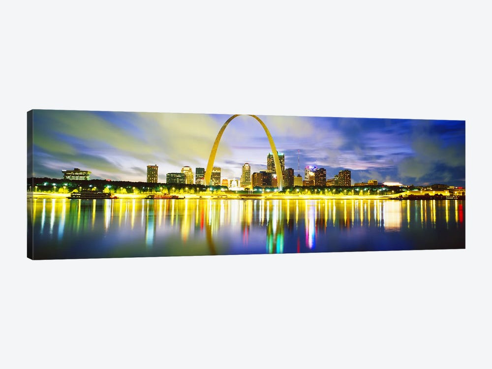 EveningSt Louis, Missouri, USA by Panoramic Images 1-piece Art Print
