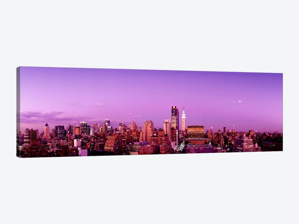 Midtown NYC, New York City, New York State, USA by Panoramic Images 1-piece Canvas Art Print