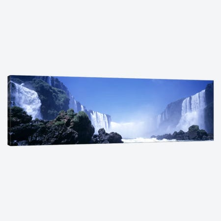 Iguassu Falls, Parana, Brazil Canvas Print #PIM3712} by Panoramic Images Canvas Wall Art