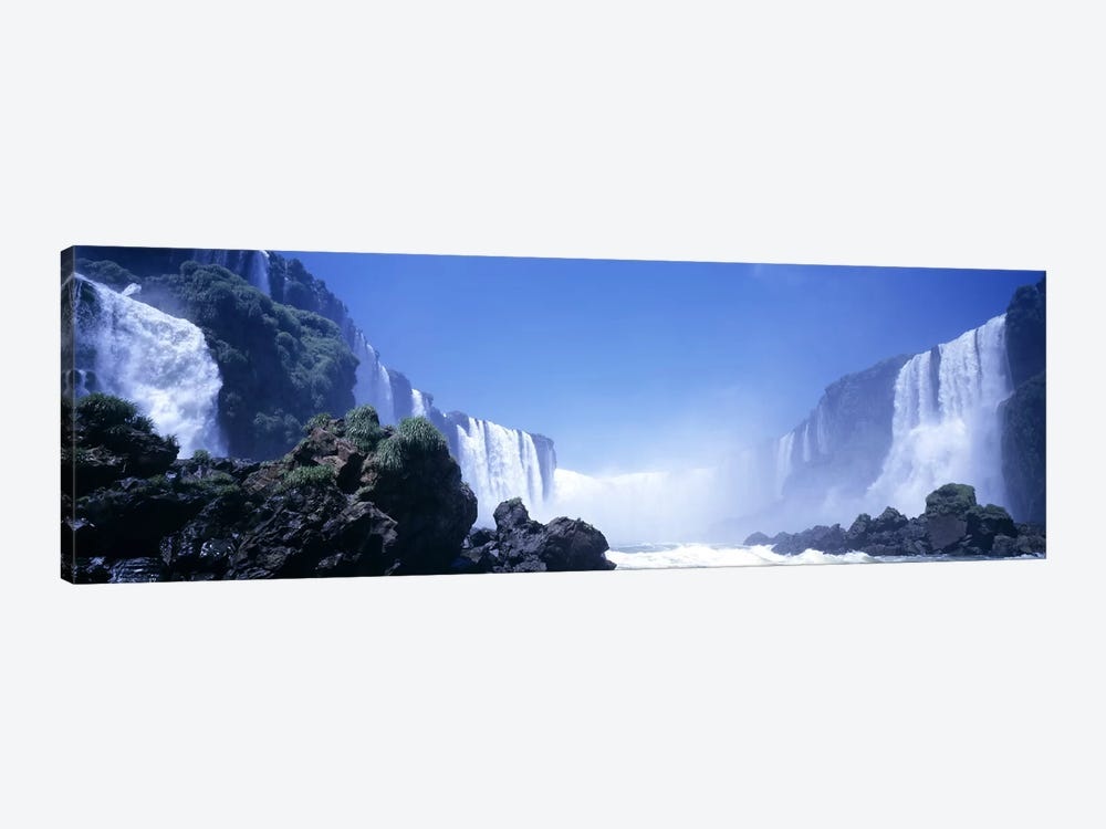 Iguassu Falls, Parana, Brazil by Panoramic Images 1-piece Canvas Wall Art