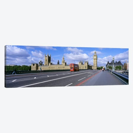Parliament Big Ben London England Canvas Print #PIM3714} by Panoramic Images Canvas Print