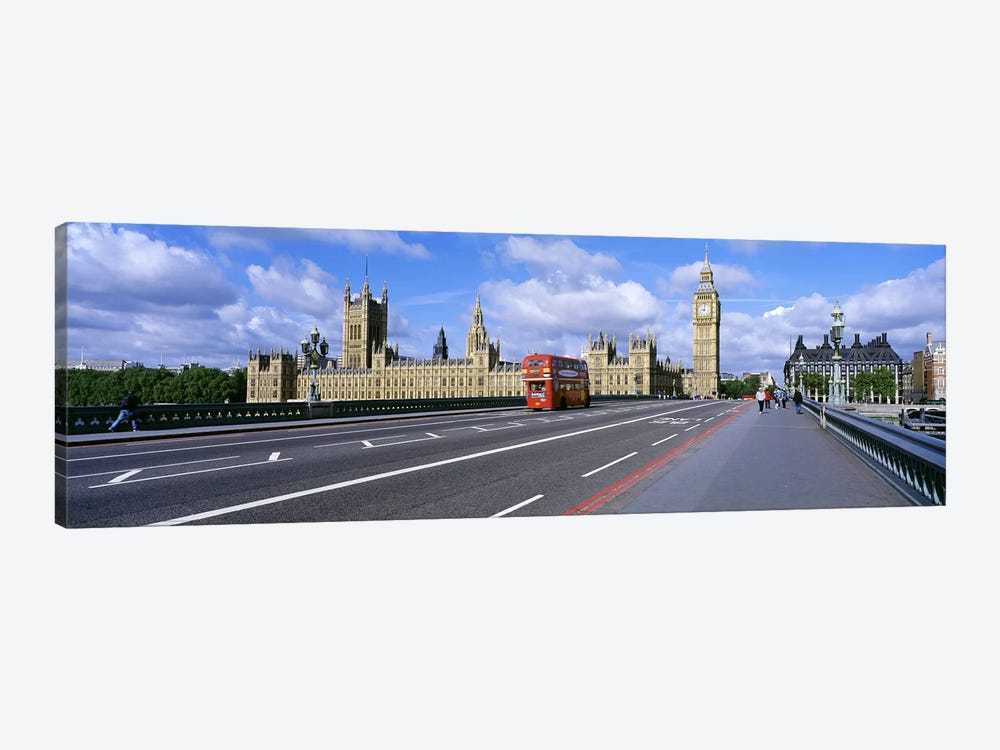Parliament Big Ben London England by Panoramic Images 1-piece Canvas Wall Art