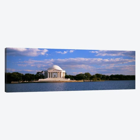 Monument On The Waterfront, Jefferson Memorial, Washington DC, District Of Columbia, USA Canvas Print #PIM3721} by Panoramic Images Canvas Art Print