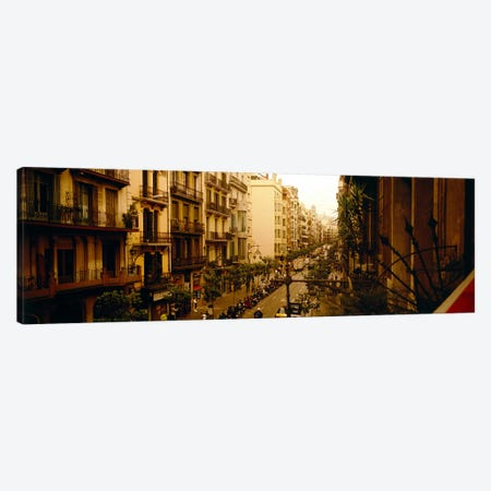 Urban Landscape, Barcelona, Catalonia, Spain Canvas Print #PIM3723} by Panoramic Images Canvas Print
