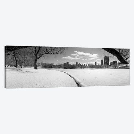 Buildings in a city, Lincoln Park, Chicago, Illinois, USA Canvas Print #PIM3731} by Panoramic Images Canvas Art