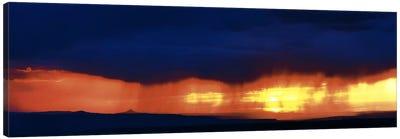 Storm along the high road to Taos Santa Fe NM Canvas Print #PIM374