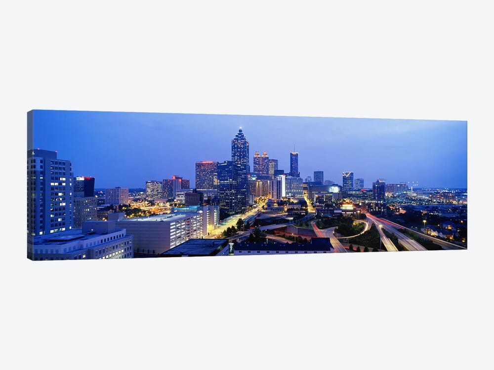 Evening In Atlanta, Atlanta, Georgia, USA by Panoramic Images 1-piece Canvas Wall Art