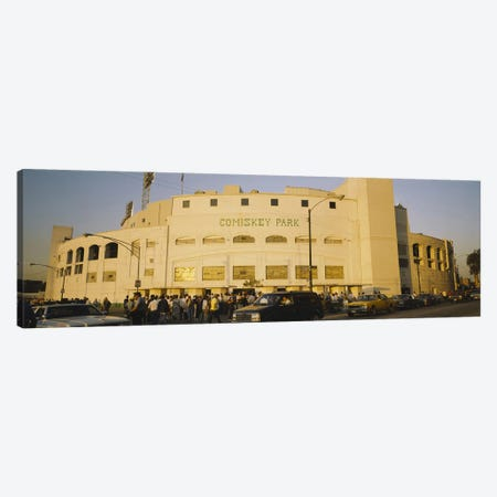Facade of a stadium, old Comiskey Park, Chicago, Cook County, Illinois, USA Canvas Print #PIM3752} by Panoramic Images Canvas Art