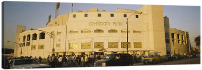 Facade of a stadium, old Comiskey Park, Chicago, Cook County, Illinois, USA Canvas Print #PIM3752