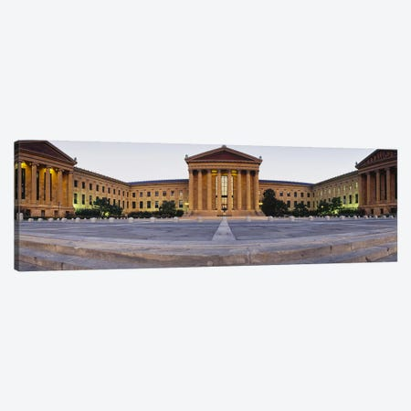 Facade of a museum, Philadelphia Museum Of Art, Philadelphia, Pennsylvania, USA Canvas Print #PIM3755} by Panoramic Images Art Print