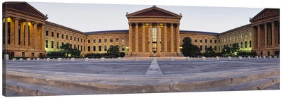 Facade of a museum, Philadelphia Museum Of Art, Philadelphia, Pennsylvania, USA Canvas Print #PIM3755