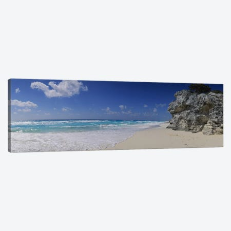 Coastal Landscape, Cancun, Quintana Roo, Mexico Canvas Print #PIM3759} by Panoramic Images Canvas Art