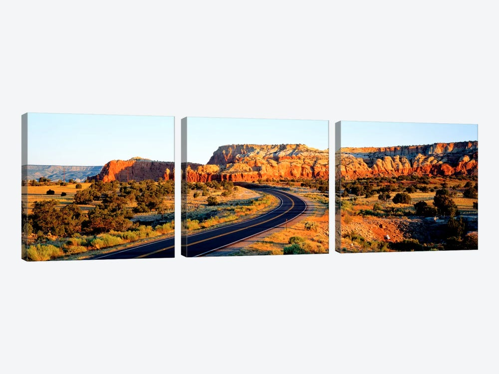 Route 84 NM USA by Panoramic Images 3-piece Canvas Art