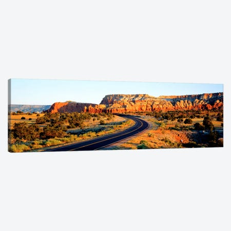 Route 84 NM USA 3-Piece Canvas #PIM375} by Panoramic Images Art Print