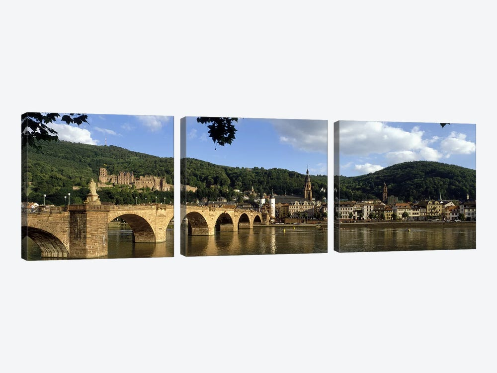 Heidelberg Germany by Panoramic Images 3-piece Canvas Artwork