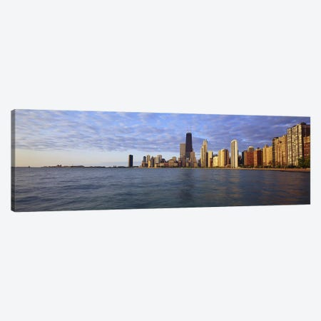 Lake Michigan Chicago IL Canvas Print #PIM3762} by Panoramic Images Canvas Print
