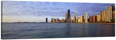 Lake Michigan Chicago IL Canvas Print #PIM3762