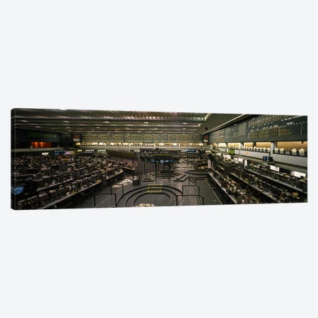 Empty Pits On The Trading Floor After Hours, Chicago Mercantile Exchange, Chicago, Illinois, USA Canvas Print #PIM3763} by Panoramic Images Canvas Print