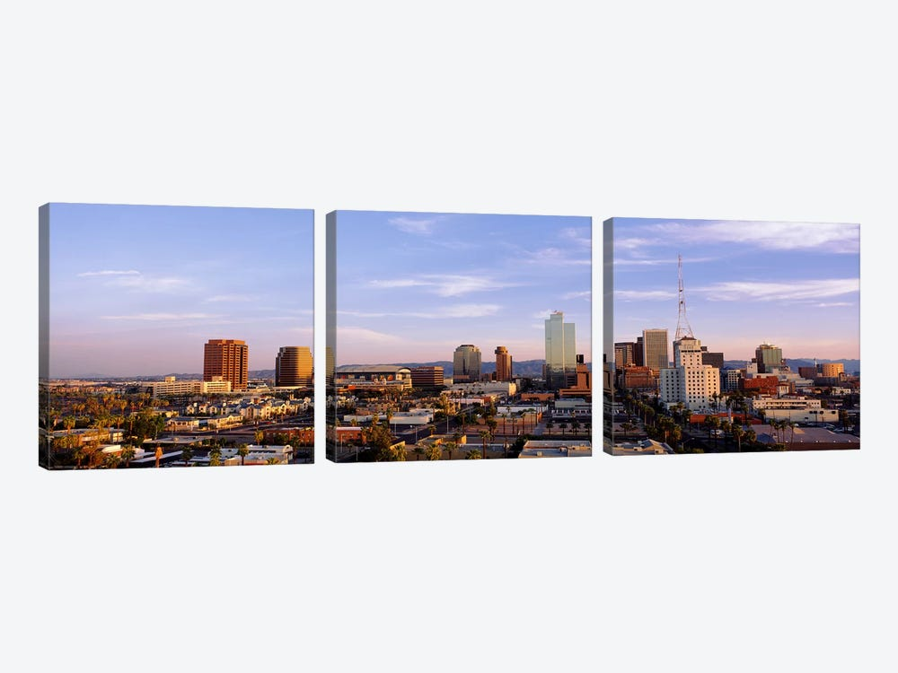 Downtown Skyline, Phoenix, Arizona, Maricopa County, USA by Panoramic Images 3-piece Canvas Art