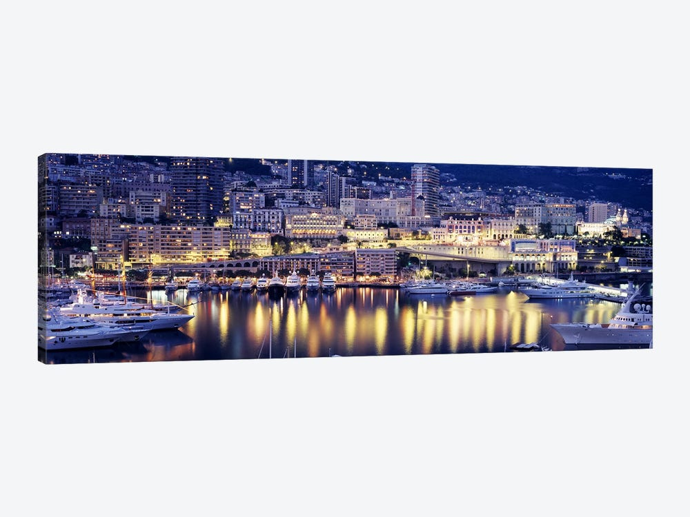 Harbor Monte Carlo Monaco by Panoramic Images 1-piece Canvas Art Print