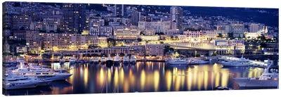 Harbor Monte Carlo Monaco Canvas Art Print