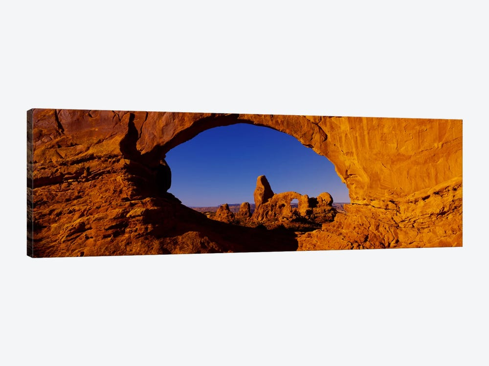 Natural arch on a landscape, Arches National Park, Utah, USA by Panoramic Images 1-piece Canvas Art