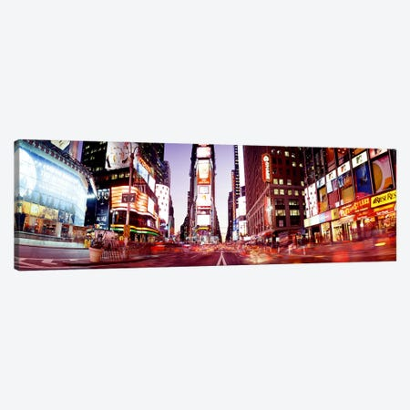 Times SquareNYC, New York City, New York State, USA Canvas Print #PIM3781} by Panoramic Images Art Print