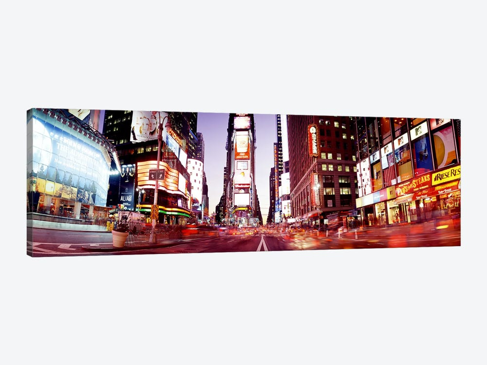Times SquareNYC, New York City, New York State, USA by Panoramic Images 1-piece Canvas Art