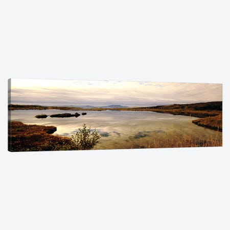 Fjord Iceland Canvas Print #PIM3785} by Panoramic Images Canvas Art