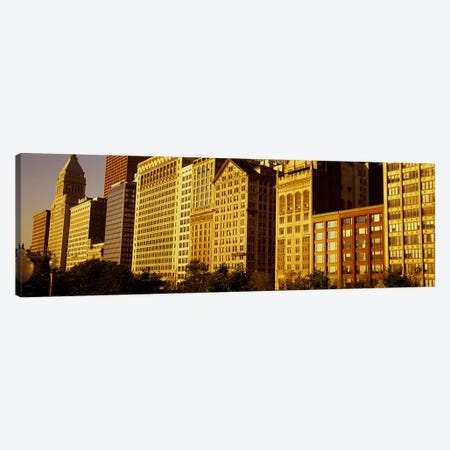 Michigan Avenue ArchitectureChicago, Illinois, USA Canvas Print #PIM3788} by Panoramic Images Canvas Art Print