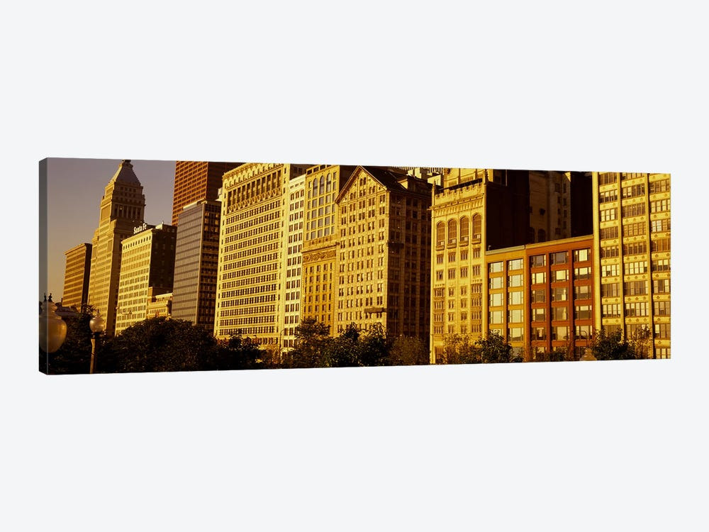 Michigan Avenue ArchitectureChicago, Illinois, USA by Panoramic Images 1-piece Canvas Art Print