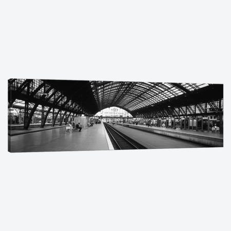 Train Station, Cologne, North Rhine-Westphalia, Germany Canvas Print #PIM3800} by Panoramic Images Canvas Wall Art