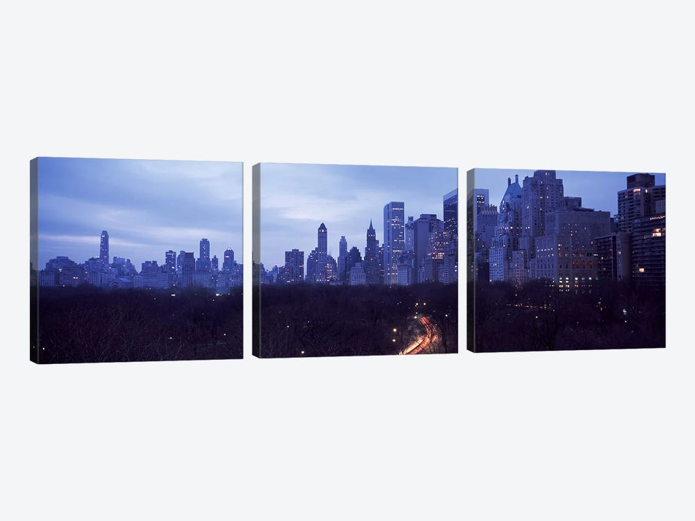 Central Park New York NY by Panoramic Images 3-piece Canvas Art
