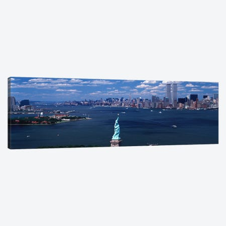USA, New York, Statue of Liberty Canvas Print #PIM3811} by Panoramic Images Canvas Print
