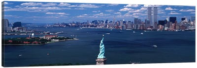 USA, New York, Statue of Liberty Canvas Print #PIM3811
