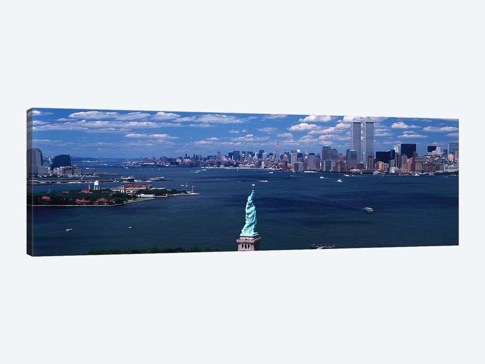 USA, New York, Statue of Liberty by Panoramic Images 1-piece Art Print