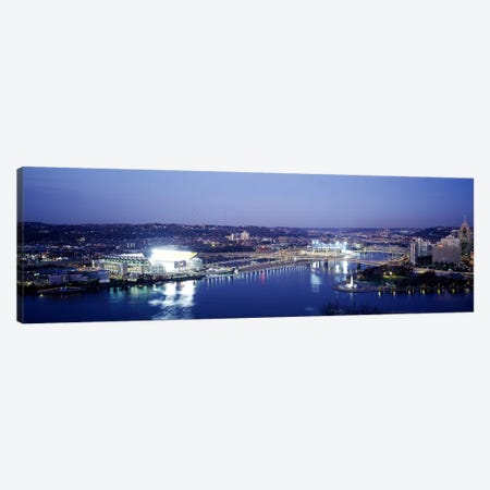 Pittsburgh PA #3 Canvas Print #PIM3828} by Panoramic Images Canvas Artwork