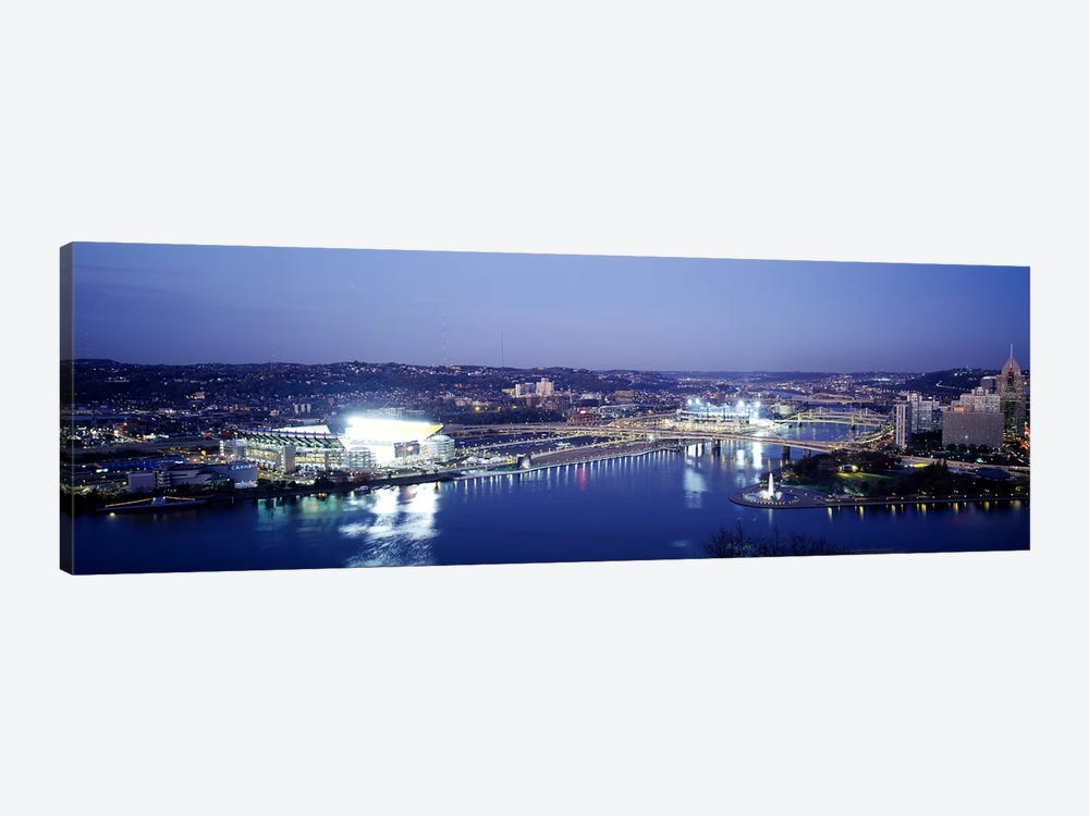 Pittsburgh PA #3 by Panoramic Images 1-piece Canvas Print