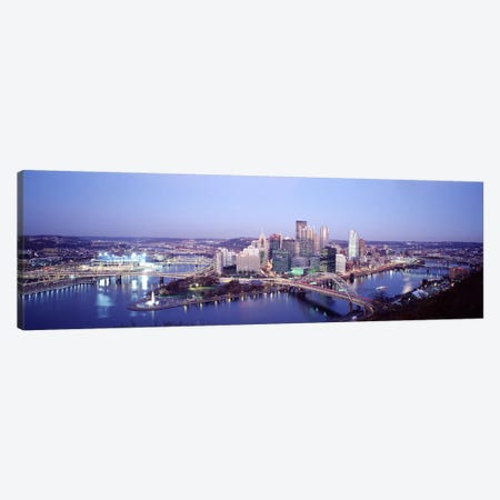 Pittsburgh PA Canvas Print #PIM3829} by Panoramic Images Canvas Artwork