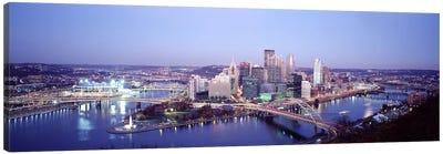 Pittsburgh PA Canvas Art Print