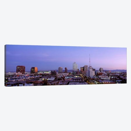 Downtown Skyline At Dusk, Phoenix, Arizona, Maricopa County, USA Canvas Print #PIM3831} by Panoramic Images Canvas Art Print