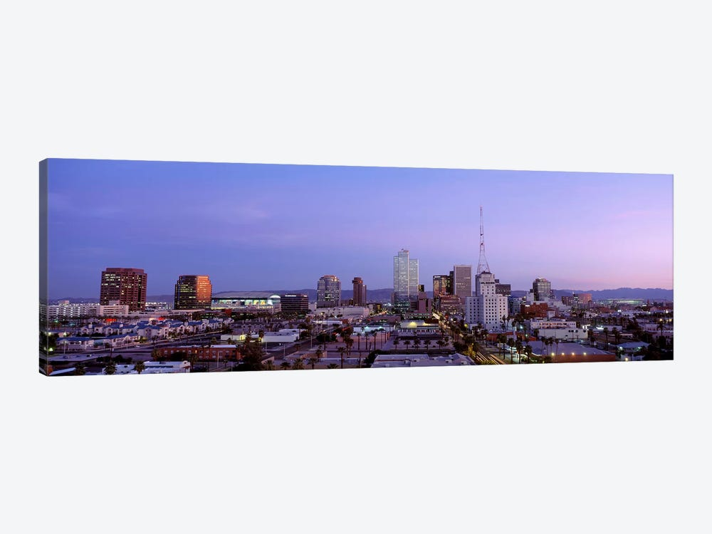 Downtown Skyline At Dusk, Phoenix, Arizona, Maricopa County, USA by Panoramic Images 1-piece Art Print