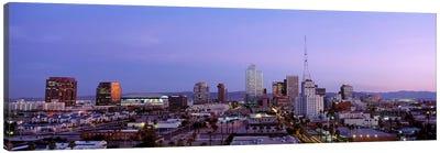 Downtown Skyline At Dusk, Phoenix, Arizona, Maricopa County, USA Canvas Art Print