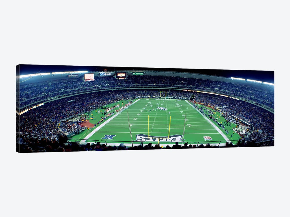 Philadelphia Eagles NFL Football Veterans Stadium Philadelphia PA by Panoramic Images 1-piece Canvas Print